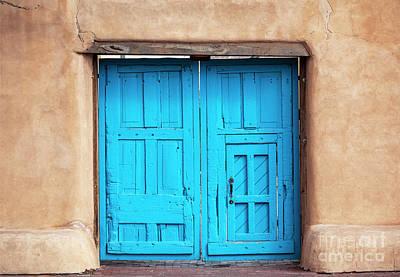 Airplane Paintings - Blue Door by Roselynne Broussard