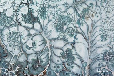Painting - Blue Flowers by Katrina Nixon