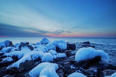 Photograph - Blue Ice by Joe Miller