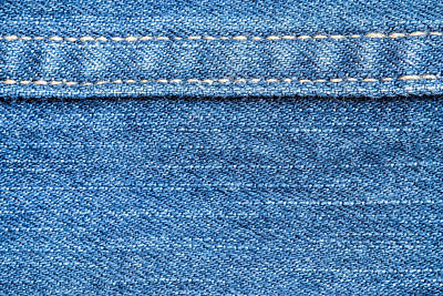 Royalty-Free and Rights-Managed Images - Blue jeans texture background.  by Julien
