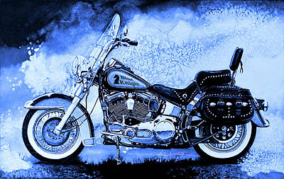 Advertising Archives - Blue Knight Biker by Hanne Lore Koehler