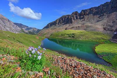 Unicorn Dust - Blue Lakes Trail - Ouray, Colorado 7261 by Rob Greebon
