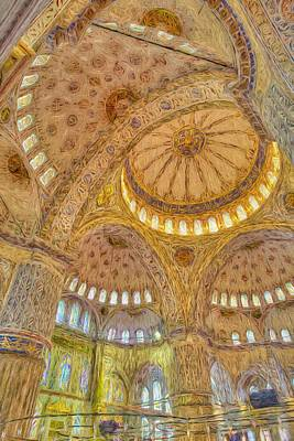 Just Desserts Rights Managed Images - Blue Mosque Art  Royalty-Free Image by David Pyatt