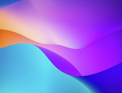 Royalty-Free and Rights-Managed Images - blue orange and yellow wallpaper - Colorado, USA by Julien