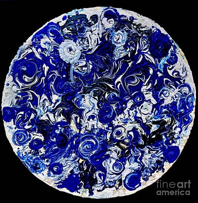 Impressionist Landscapes - Blue Planet by Pruddygurl Exclusives