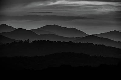 Photograph - Blue Ridge Mountains by Christopher Nelson