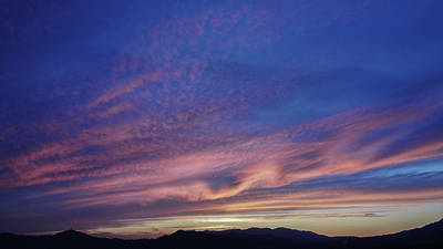 Photograph - Blue Sunset by Nature Photography