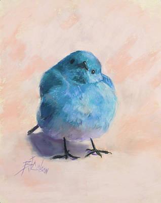 Leonardo Da Vinci - Bluebird Day by Billie Colson