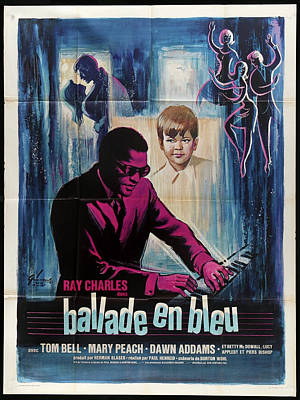Mixed Media Royalty Free Images - Blues for Lovers movie poster 1965 Royalty-Free Image by Stars on Art