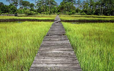 Route 66 - Boardwalk Over the Marsh by Marcy Wielfaert