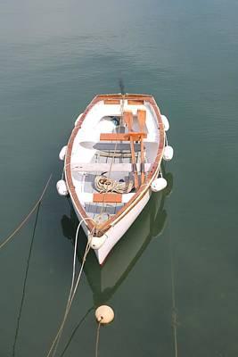 Moody Trees - Boat and Buoys by Michaela Perryman
