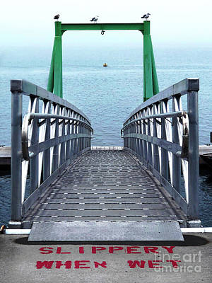 Photograph - Boat Dock by Peter Tompkins