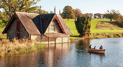 Wilderness Camping - Boat House on the Rye Water - County Kildare, Ireland by Barry O Carroll