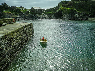 Rusty Trucks - Boat In Polperro Harbour Cornwall 2020 Re-edit by Richard Brookes