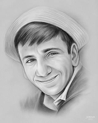 Drawings Royalty Free Images - Bob Denver - Pencil Royalty-Free Image by Greg Joens