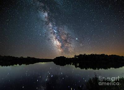 Photograph - Bob White Milky Way by Willard Sharp