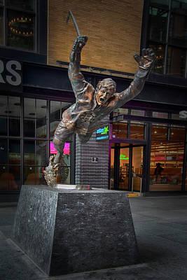 Fruits And Vegetables Still Life - Bobby Orr Statue Boston by Joann Vitali