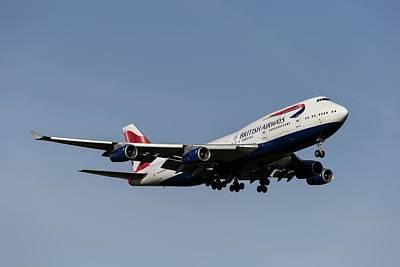 Achieving -  Boeing 747-436 British Airways by David Pyatt