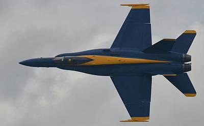 Surrealism Royalty Free Images - Boeing F A 18 BLUE ANGEL, US Navy - Surreal Art Royalty-Free Image by Celestial Images