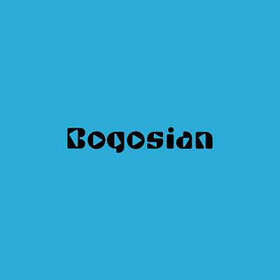 Royalty-Free and Rights-Managed Images - Bogosian by TintoDesigns