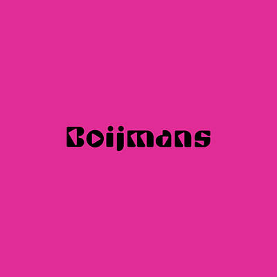 Royalty-Free and Rights-Managed Images - Boijmans by TintoDesigns