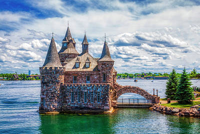 Fantasy Royalty-Free and Rights-Managed Images - Boldt castle on St. Laurence river, Onario, Canada by Tatiana Travelways