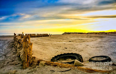 Priska Wettstein Pink Hues Royalty Free Images - Bombay Beach Club  Royalty-Free Image by Phil Cappiali Jr