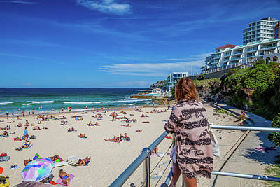 Royalty-Free and Rights-Managed Images - Bondi View by Az Jackson