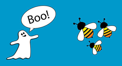 Royalty-Free and Rights-Managed Images - Boo Bees by Pelo Blanco Photo