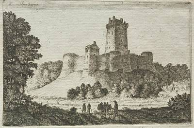 The Beach House - Borthwick Castle from the East Date unknown John Clerk of Eldin by MotionAge Designs