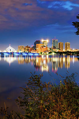 Royalty-Free and Rights-Managed Images - Boston Skyline On the Water by Gregory Ballos