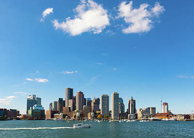 Photograph - Boston Skyline  by Tim Fitzwater