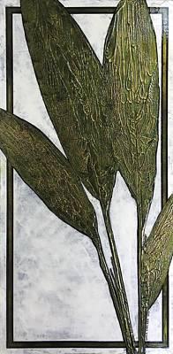 Painting - Botanical Hosta #1 by Carla Carlson