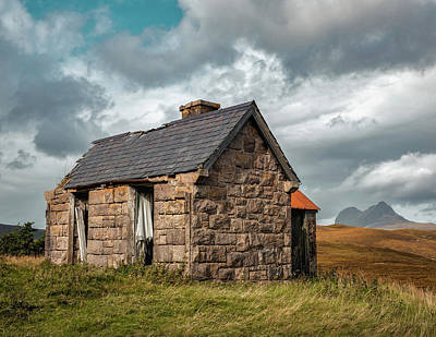 Clouds - Bothy and Suilven by Dave Bowman