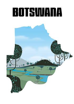 Digital Art - Botswana by David Greenaway