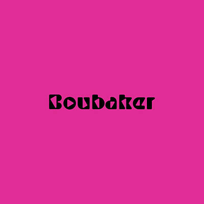 Royalty-Free and Rights-Managed Images - Boubaker by TintoDesigns