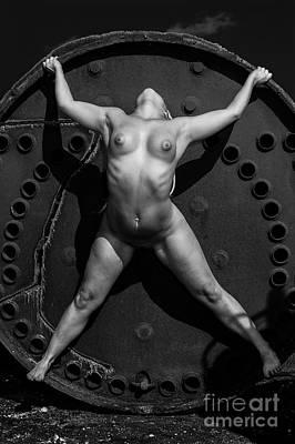 Photograph - Bound To The Wheel by Simon Pocklington