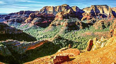 Catch Of The Day - Boynton canyon 04-01-SN Pan by Scott McAllister