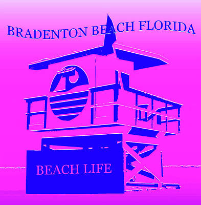 Royalty-Free and Rights-Managed Images - Bradenton Beach Florida by David Lee Thompson