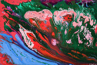 Painting - Brain Tides by Wardell Picquet