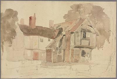 The Beach House - Bray Church Yard 1807 John Varley by MotionAge Designs
