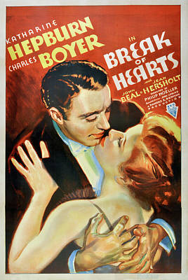 Royalty-Free and Rights-Managed Images - Break of Hearts - 1935 by Stars on Art