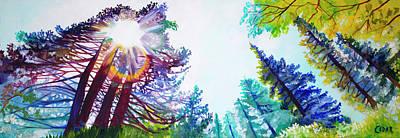Painting - Breakthrough by Cedar Lee