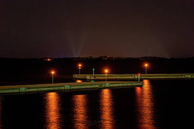 Photograph - Breakwater Nights by Erich Grant