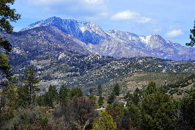 Kids Cartoons - Breathtaking View - San Jacinto Mountains by Glenn McCarthy