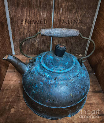 Photograph - Brewed Patina  by Steven Digman