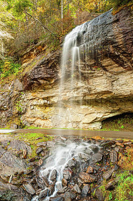Food And Flowers Still Life Rights Managed Images - Bridal Veil Falls Royalty-Free Image by Rob Hemphill
