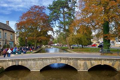 David Bowie - Bridge, Bourton-on-the-Water, Gloucestershire, England. by Joe Vella