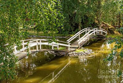 Lovely Lavender - Bridge In July by Torfinn Johannessen
