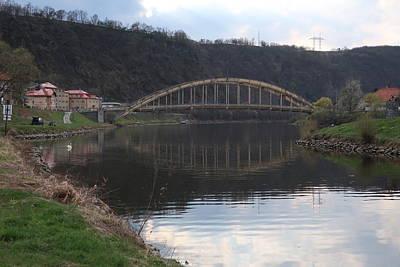 Photograph - Bridge over Kocaba by Lenka Rottova